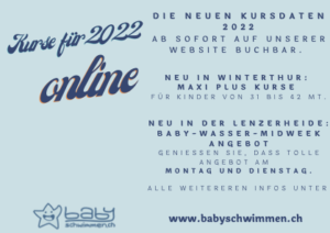 Kurse für 2022